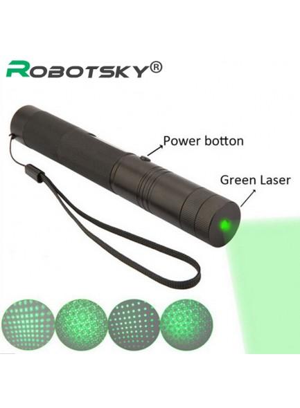 SDLaser 303 מצביע לייזר ירוק/סגול/אדום עוצמתי