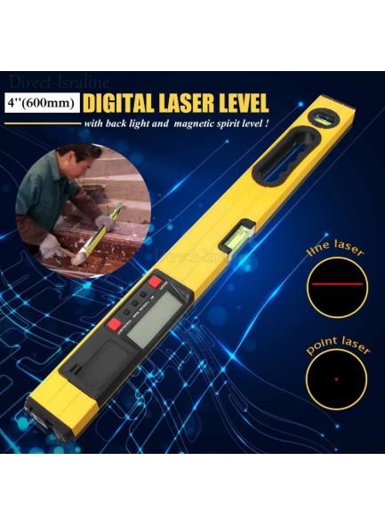 פלס לייזר דיגיטלי 60 סמ D1059 *במלאי מיידי*
