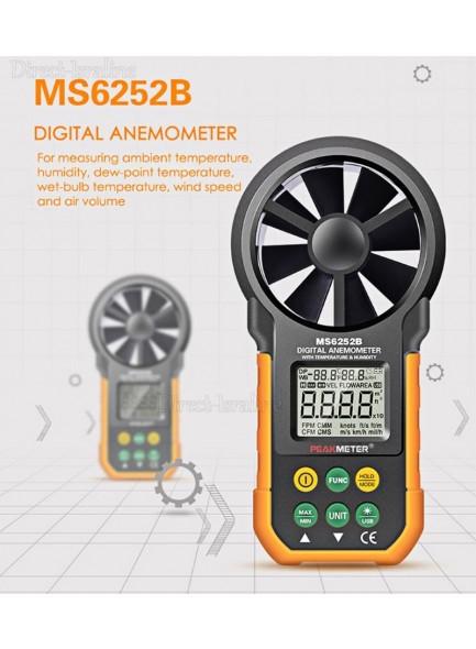 מד רוח עם חיבור USB למחשב MS6252B