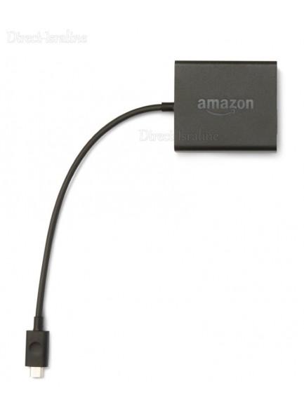 מתאם רשת Amazon Ethernet Adapter for Amazon Fire TV למכשירי