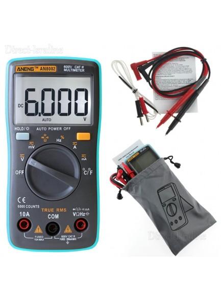 ANENG AN8002 Digital Ture RMS 6000 Counts רב מודד מולטימטר מקצועי *במלאי מיידי*