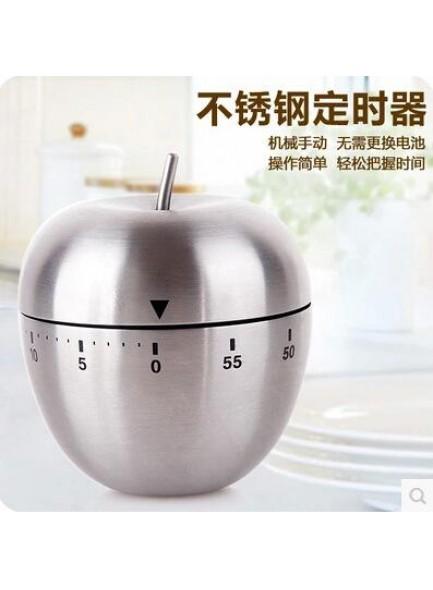 טיימר מכני מפלדה למטבח בעיצוב תפוח *במלאי מיידי*