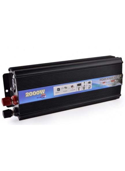 ממיר מתח בהספק 800W / 2000W הספק עבודה קבוע לרכב בחיבור למצבר