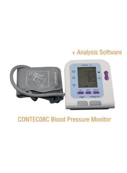 מד לחץ דם בחיבור למחשב CONTEC 08C באספקה מיידית