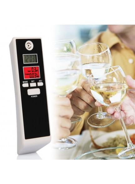 גלאי אלכוהול עם תצוגה כפולה ותאורה D5198 *במלאי מיידי*
