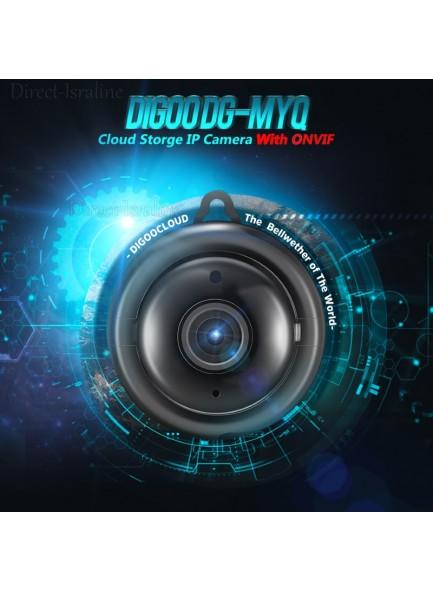 Digoo DG-MYQ מצלמת אבטחה מיני בשליטה מרחוק ואחסון בענן *במלאי מיידי*