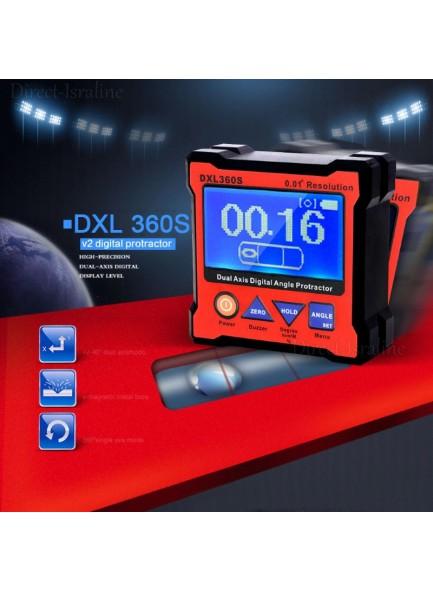 פלס דיגיטלי קצר נטען ברמת דיוק ורזולוצייה גבוהים במיוחד DXL360S *במלאי מיידי*