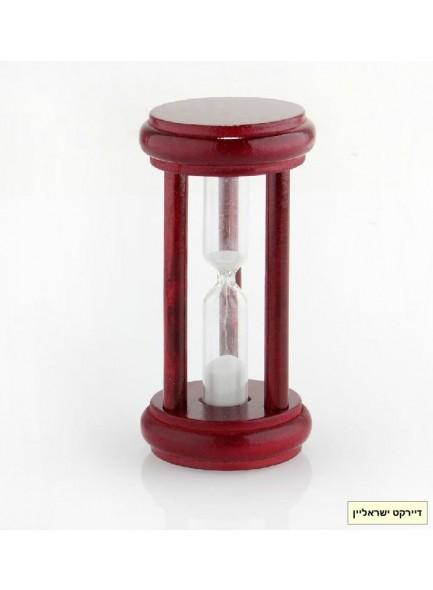 שעון חול במסגרת עץ דקורטיבי D1982 *במלאי מיידי*