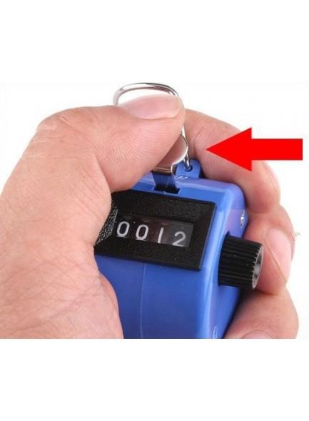 נומרטור קאונטר לספירה ידנית עד 9999 כחול