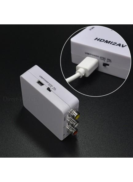 מתאם HDMI to RCA AV / Composite D1915