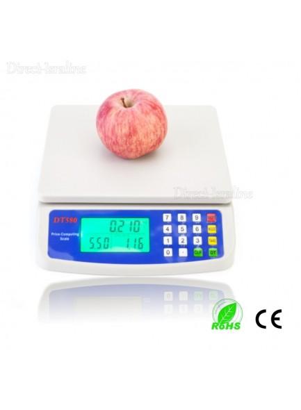 """משקל דיגיטלי עד 30 ק""""ג דיוק 1 גרם למטבח DT-580 *במלאי מיידי*"""