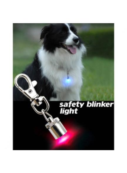 פנס בטיחות מהבהב לכלב/ילד/אופניים