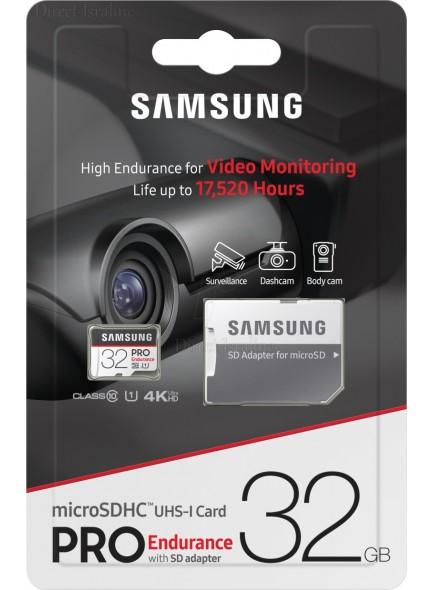 Samsung MicroSDHC PRO Endurance With Adapter 32GB MB-MJ32GA