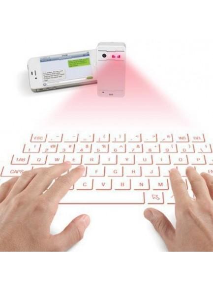 מקלדת לייזר בלוטוס וירטואלית לסמארטפונים וטאבלטים KB560 *במלאי מיידי*