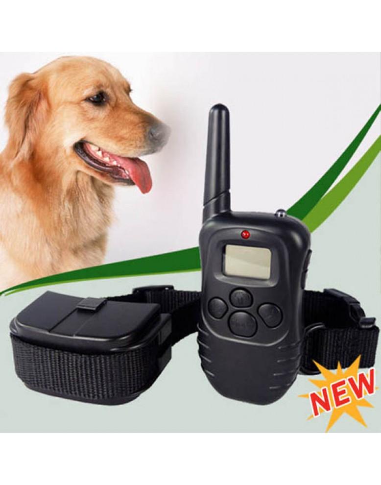 אולטרה מידי מתנה + D5455 קולר אילוף נגד נביחות עם שלט אלחוטי דיגיטלי לכלב SA-86