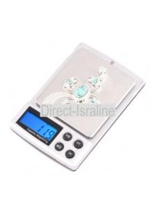 משקל אלקטרוני דיגיטלי לתכשיטים שקילה עד 300 גרם דיוק עד 0.01 גרם