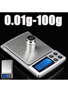 משקל דיגיטלי עד 100 גרם דיוק 0.01 לתכשיטים ואבני חן D5468