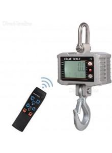 """משקל תליה דיגיטלי חכם עד 1000 ק""""ג בדיוק של 500 גרם לעומס כבד מאד כולל שלט OCS-S1000"""
