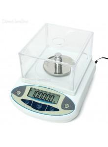 משקל מעבדה דיגיטלי עד 100 גרם דיוק עד 0.001 גרם D1750