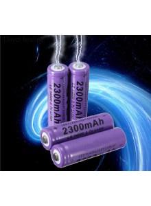 סוללה נטענת 3.7v 2300mAh 14500 Li-ion *במלאי מיידי*