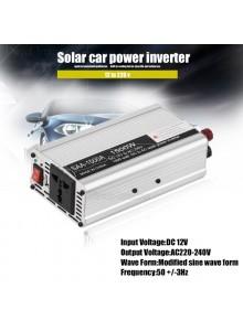 ממיר מתח בהספק 600W / 1500W הספק עבודה קבוע לרכב בחיבור למצבר או לשקע המצית