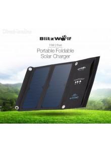 מטען נייד פאנל סולארי 15W 2A Blitzwolf *במלאי מיידי