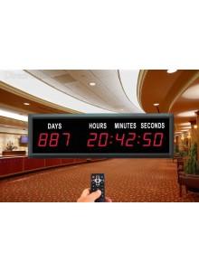 שעון טיימר יומי עם תצוגת ענק לספירת ימים קדימה ואחורה D1597 *במלאי מיידי*