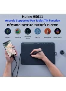 לוח כתיבה אלקטרוני HUION HS611 *במלאי מיידי*