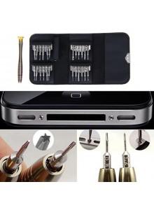 סט 25 חלקים מברגים לסמארטפונים טאבלטים ולוחות אלקטרוניים D5600 *במלאי מיידי*
