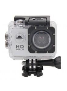 מצלמת HD ספורט אקסטרים נגד מים - צבע כסף - 7711955