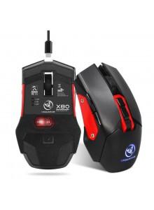 עכבר 7 כפתורים אלחוטי נטען למחשב וגיימרים D2549 *במלאי מיידי*