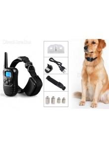 קולר אילוף נטען נגד נביחות עם שלט אלחוטי דיגיטלי לכלב D2228 *במלאי מיידי*