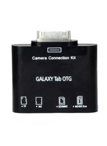 Samsung Galaxy Tab 10.1 P7500 P7510-ל OTG קורא כרטיסים