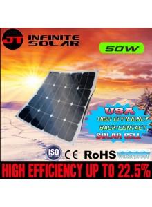 פאנל סולארי גמיש 50W D1004 *במלאי מיידי*