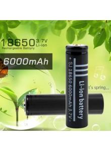 סוללה נטענת 3.7v 6000mAh 18650 Li-ion  *במלאי מיידי*