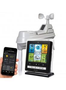 תחנת מזג אוויר אלחוטית באפליקציה עם שבשבת AcuRite 2064 *במלאי מיידי*