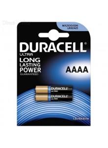 סוללות אלקליין 2 יח AAAA Duracell טריות בתוקף עד 2024 *במלאי מיידי*