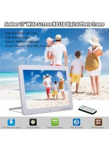 מסגרת תמונה דיגיטלית 12 אינטש ברזולוצייה 800X1280 DPF1202 *במלאי מיידי* כולל שלט