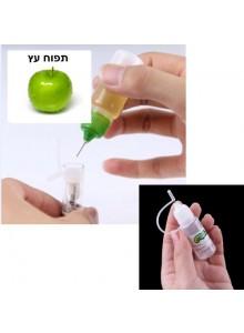 נוזל לסיגריה אלקטרונית בטעם תפוח 10 מיליליטר