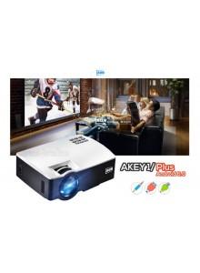מקרן AUN AKEY1 Plus 1800 Lumens HDMI תומך Full HD 1080P Android 6.01 4K  *במלאי מיידי*