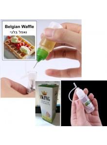 נוזל לסיגריה אלקטרונית בטעם ואפל בלגי 10 מיליליטר