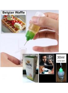 נוזל לסיגריה אלקטרונית בטעם ואפל בלגי 30 מיליליטר
