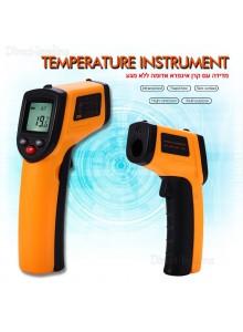מד חום עד 320°C דיגיטלי אלחוטי עם קרן לייזר GM-320 *במלאי מיידי*
