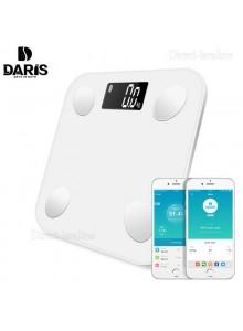 DARIS DR-BA-001 משקל אדם ומד שומן חכם בלוטוס 4.0 עם אפליקציה *במלאי מיידי*