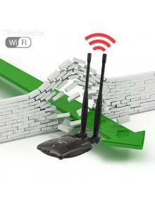 אנטנת רשת אלחוטית כפולה BT-N9100 3000mw 48DBI להגברת קליטת WIFI