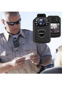 מצלמת גוף משטרתית Boblov KJ21 1296P HD עם ראיית לילה לשוטרים ואנשי בטחון *זמין במלאי*