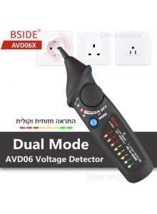 BSIDE AVD06X וולט טסטר בודק נתק מתח דיגיטלי ללא מגע AC 12-1000V *במלאי מיידי*