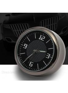 שעון מחוגים דקורטיבי בעל מראה יוקרתי זוהר בחשיכה לרכב D4043 *במלאי מיידי*