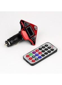 משדר FM לרכב ל-MP3 בעיצוב ספינת חלל*במלאי מיידי*