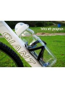 תפס מתקן כלוב מקצועי לבקבוק לאופניים מחוזק בסיבי פחמן *+מתנה*